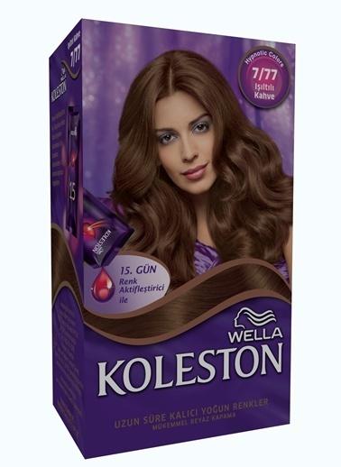 Koleston Koleston Kit Saç Boyası 7/77 Işıltılı Kahve Renkli